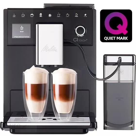 Automatyczny, ciśnieniowy ekspres do kawy z młynkiem MELITTA CI TOUCH